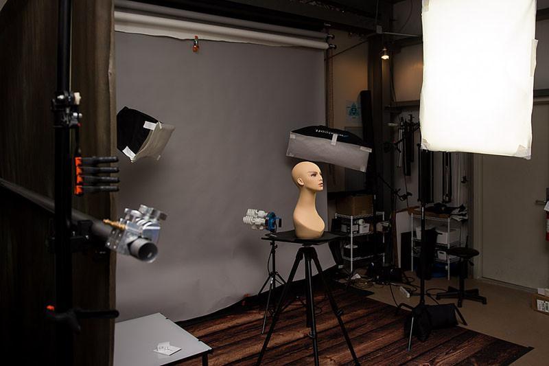 оборудование для семинара по фотографии