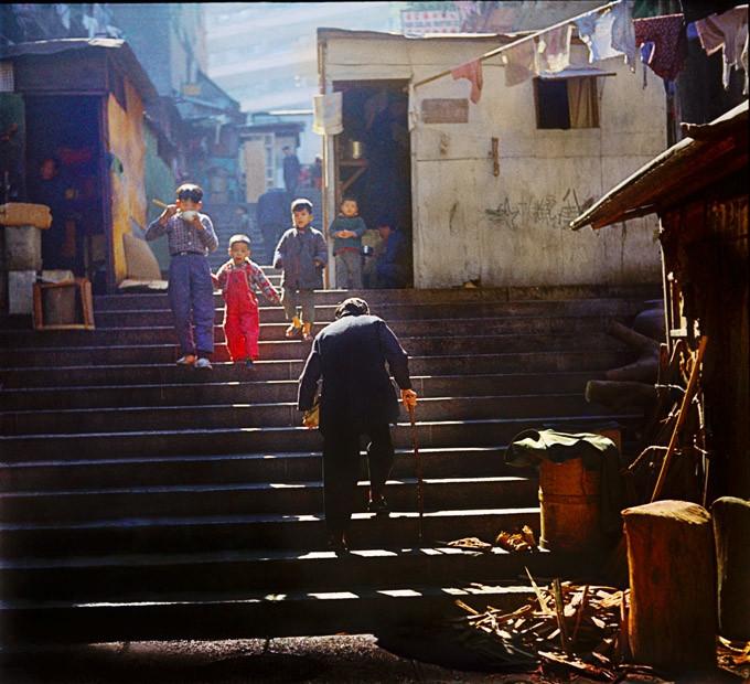 стритфотография Хо Фень