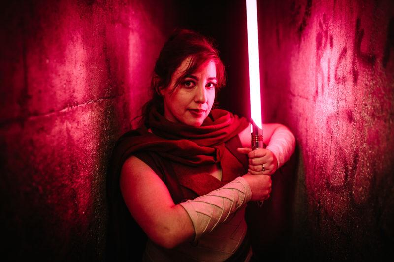 Как сфотографировать световой меч из «Звездных войн»