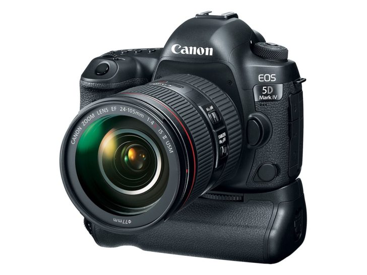 новинка Canon EOS 5D Mark IV