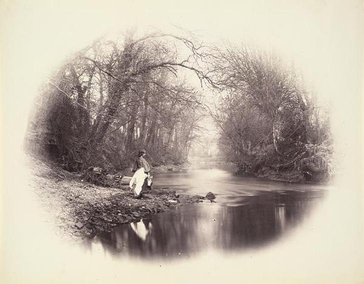 Генри Пич Робинсон создал виньетку в фотографии