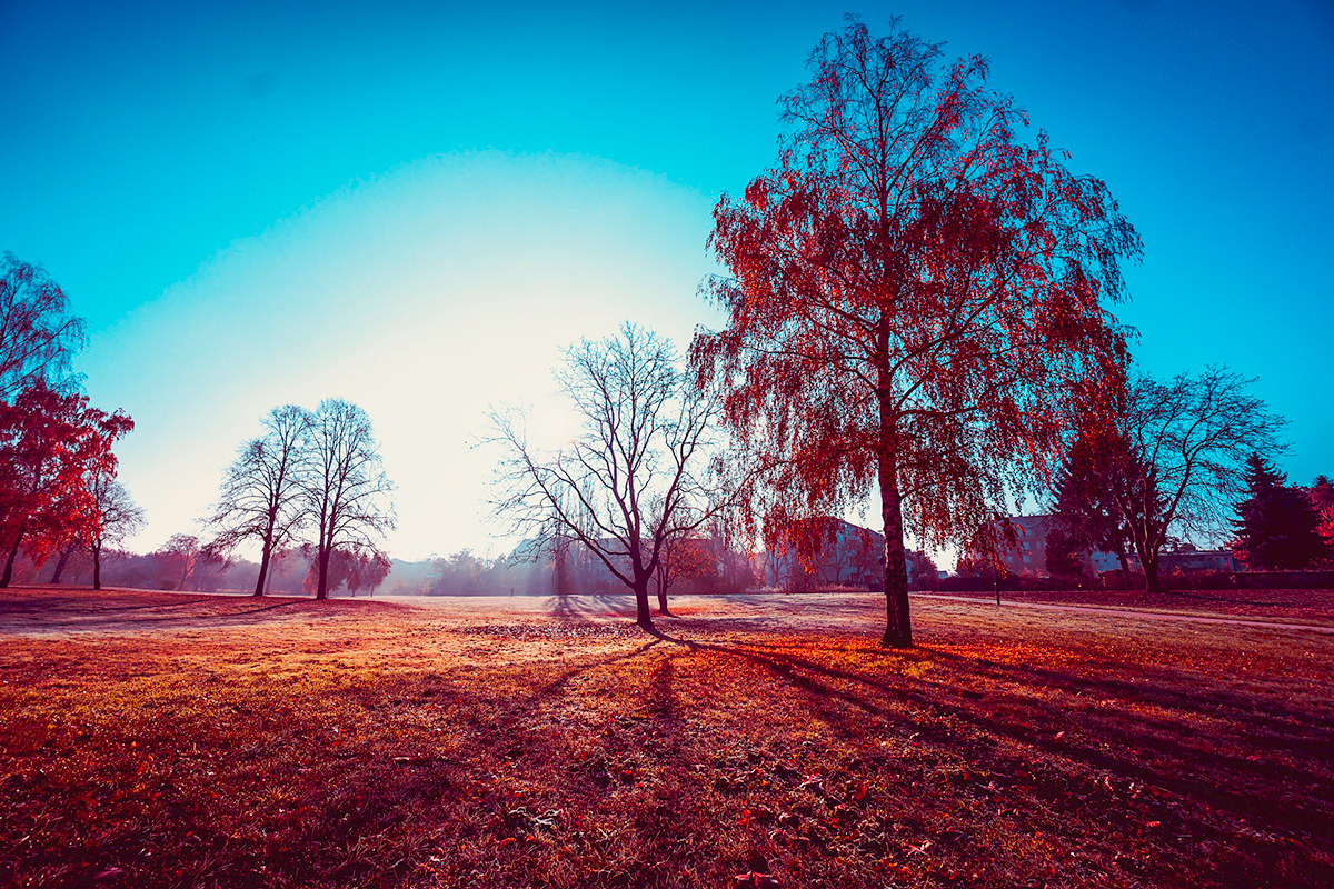 Использование фильтров в ландшафтной фотографии