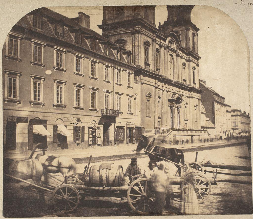 Дворец Тышкевичей-Потоцких (сейчас – музей Варшавского университета)